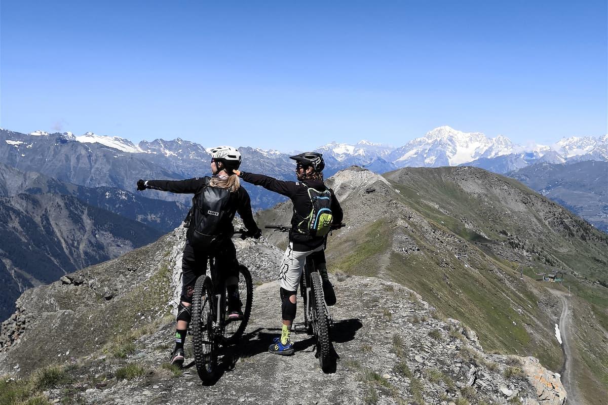 Montagne mountain bike Valle d'Aosta