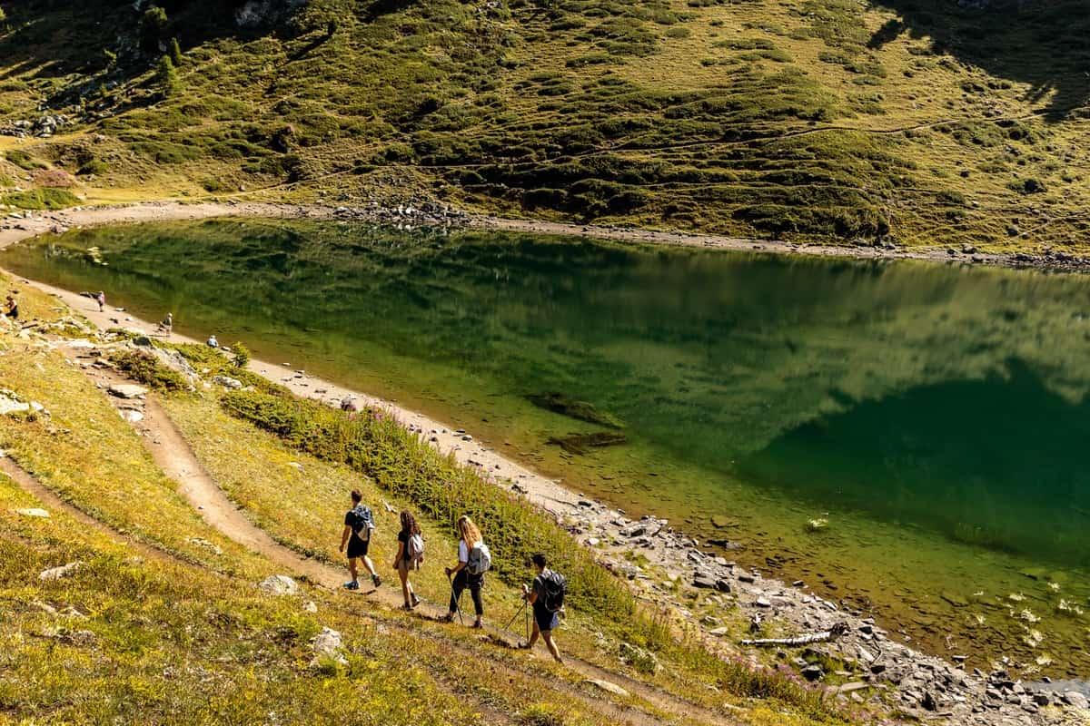 Lago Valle d'Aosta trekking