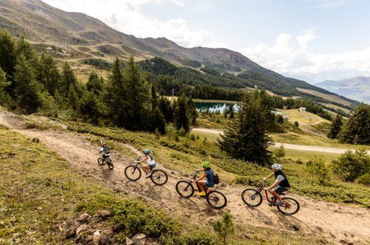 Mountain bike Valle d'Aosta Pila Bikeland
