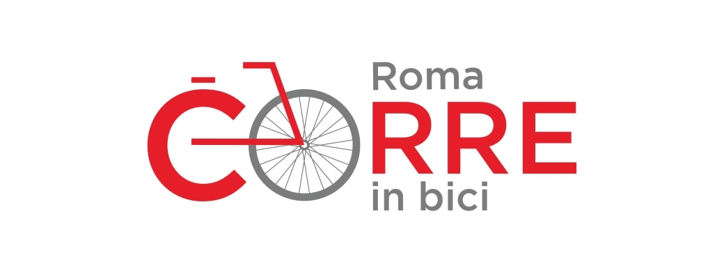 logo app roma corre in bici