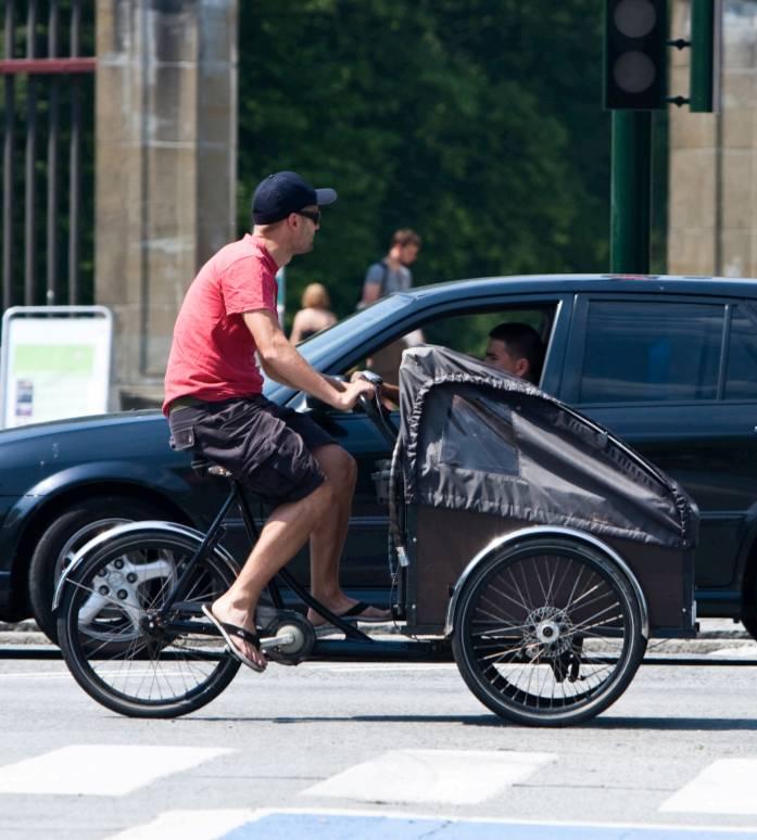 Cargo bike rimedio contro il traffico urbano
