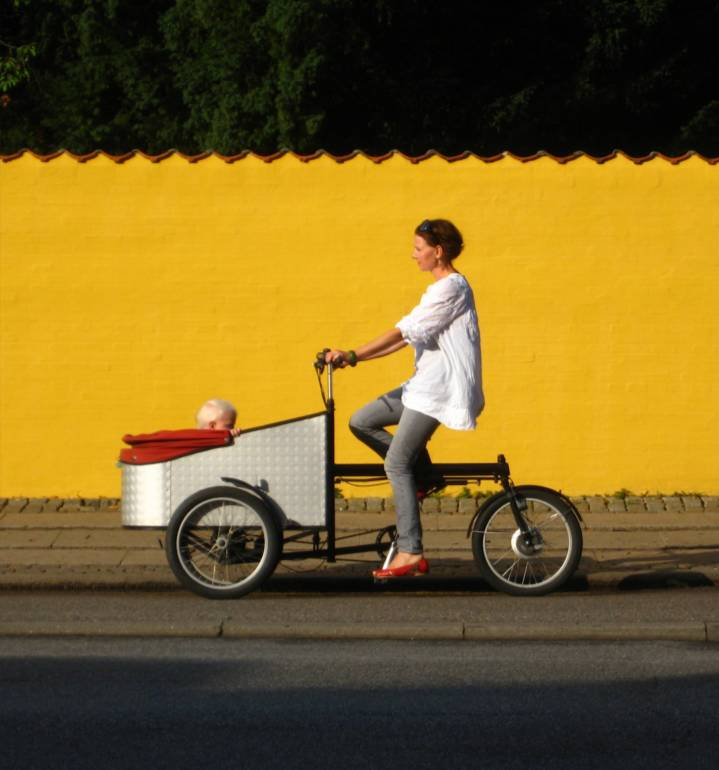 Cargo bike e parità di genere