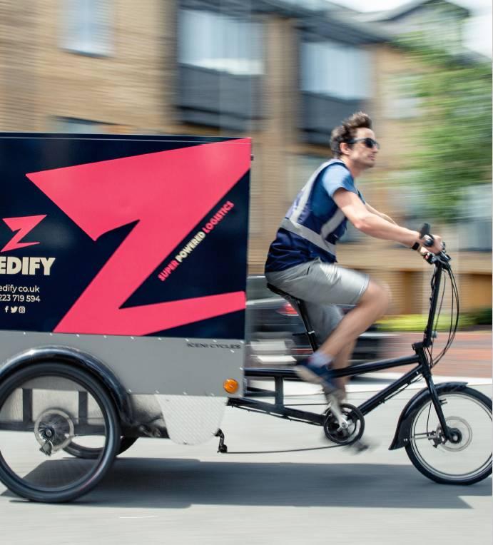 Cargo bike ciclologistica