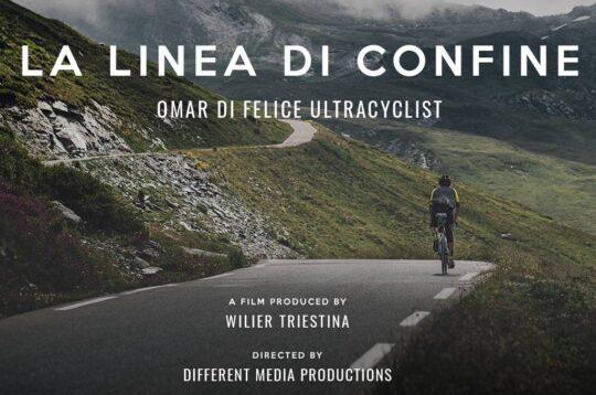 La Linea di Confine Omar Di Felice ultracyclist un docufilm prodotto da Wilier Triestina e diretto da Different Media Productions