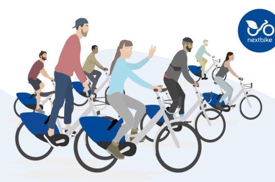 Nextbike il servizio di bike sharing sbarca in Italia a Bergamo