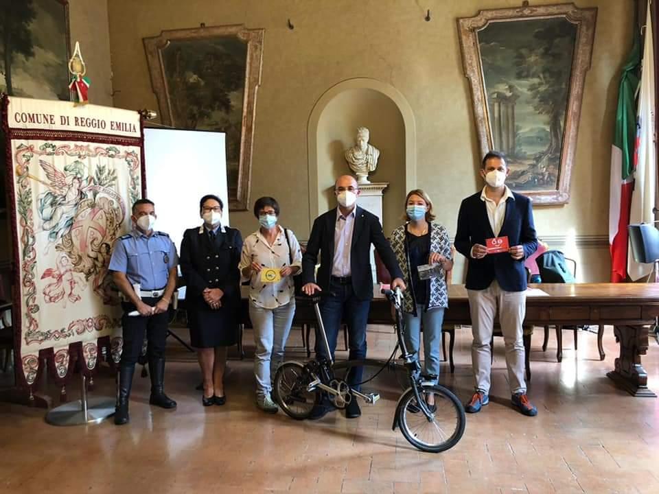 Comune di Reggio Emilia annuncio di MobilitARS 2022 nel corso della Settimana Europea della Mobilità