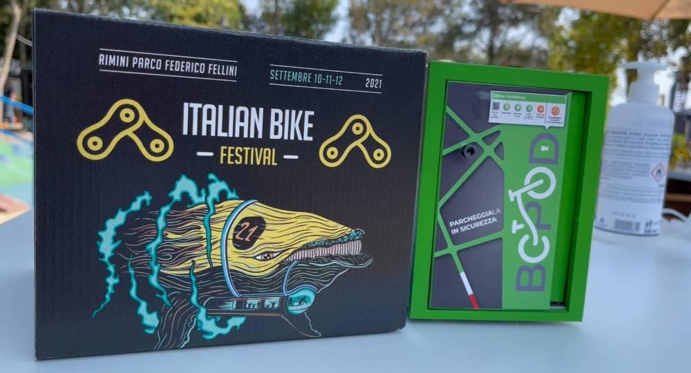 bcpod parcheggi bici box rimini festival