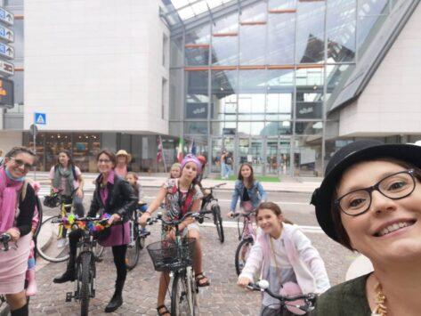 trento fancy women bike ride 2021