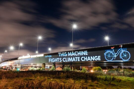 This machine fights climate change Cycling UK Glasgow