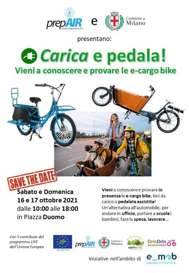 Carica e pedala Milano